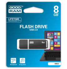 Goodram 8GB UMO2 USB 2.0 Pendrive Grafit
