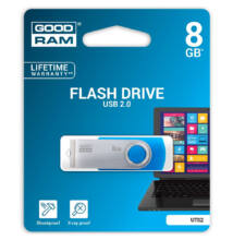 Goodram 8GB UTS2 USB 2.0 pendrive - kék