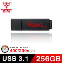 Patriot Viper Fang Gaming 256GB [USB 3.1 | 400/200 MBps]