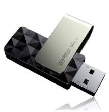 Silicon Power 64GB Blaze Pendrive B30 [USB 3.0] Fekete