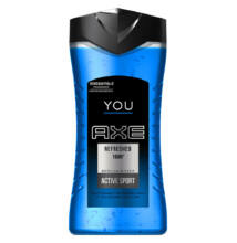 Axe You Refreshed 168H Active Sport tusfürdő 250ml