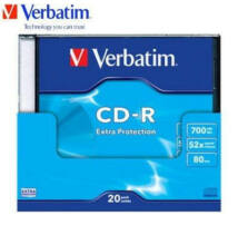 Verbatim CD-R 52x 700mb Slim Case (10)