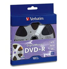 Verbatim DVD+R 4.7GB 16x Digital Movie Shrink 10