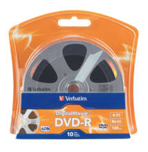 Verbatim DVD-R Digital Movie Edition 16X Lemez - Shrink (10)