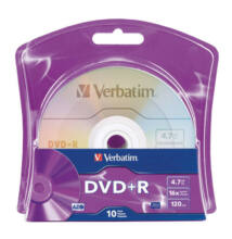Verbatim DVD+R 4.7GB 16x Shrink 10