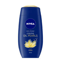 Nivea Creme Oil Pearls & Lotus krémtusfürdő 250 ml