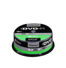 Intenso DVD-R 4.7GB. 16x Speed Cake Printable 25