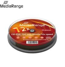 MediaRange CD-RW 80min 12x Cake(10) /MR235/
