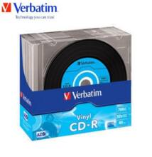 Verbatim CD-R 52x 700mb Vinyl Slim Case (10)