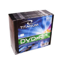 TITANUM DVD+R [ SLIM TOK 10db | 4.7GB | 16x ] 1291 - 5905784765235