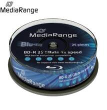 MediaRange BD-R 4x 25 GB Cake (25) /MR503/