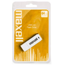 Maxell 64GB Pendrive USB 3.0 - White