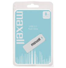 Maxell 8GB Pendrive USB 2.0 - White