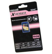 Maxell SDHC 16GB Cl 2 X-Series