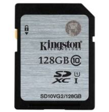 Kingston 128GB SDXC Memóriakártya UHS-I Class 10 (45 Mb/S) (SD10VG2/128GB)