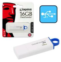 Kingston DataTraveler G4 16GB Pendrive USB 3.0 - Kék (DTIG4/16GB)