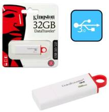 Kingston DataTraveler G4 32GB Pendrive USB 3.0 - Piros (DTIG4/32GB)