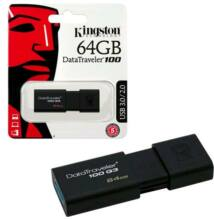 Kingston DataTraveler 100 G3 64GB Pendrive USB 3.0 (DT100G3/64GB)