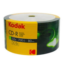 Kodak CD-R 52X 700Mb Lemez - Shrink (50)
