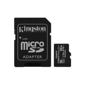 Kingston Canvas Select Plus 32GB microSD memóriakártya + Adapter