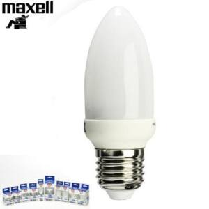 Maxell LED-ES IZZÓ Nappali 4W CANDLE LED BULB E27 NATURAL (6400K) (1)
