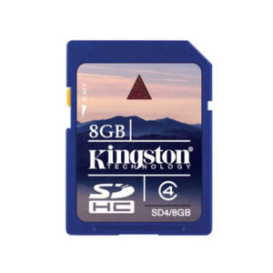 !! 8GB Kingston Secure Digital (SDHC) Memóriakártya Class4