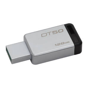 Kingston Dt50 128GB Pendrive USB 3.0 - Fekete (DT50/128GB)