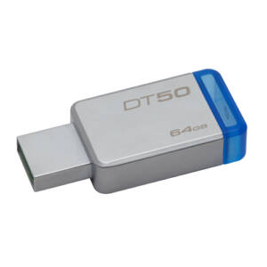 Kingston DT50 64GB Pendrive USB 3.0 - Kék (DT50/64GB)